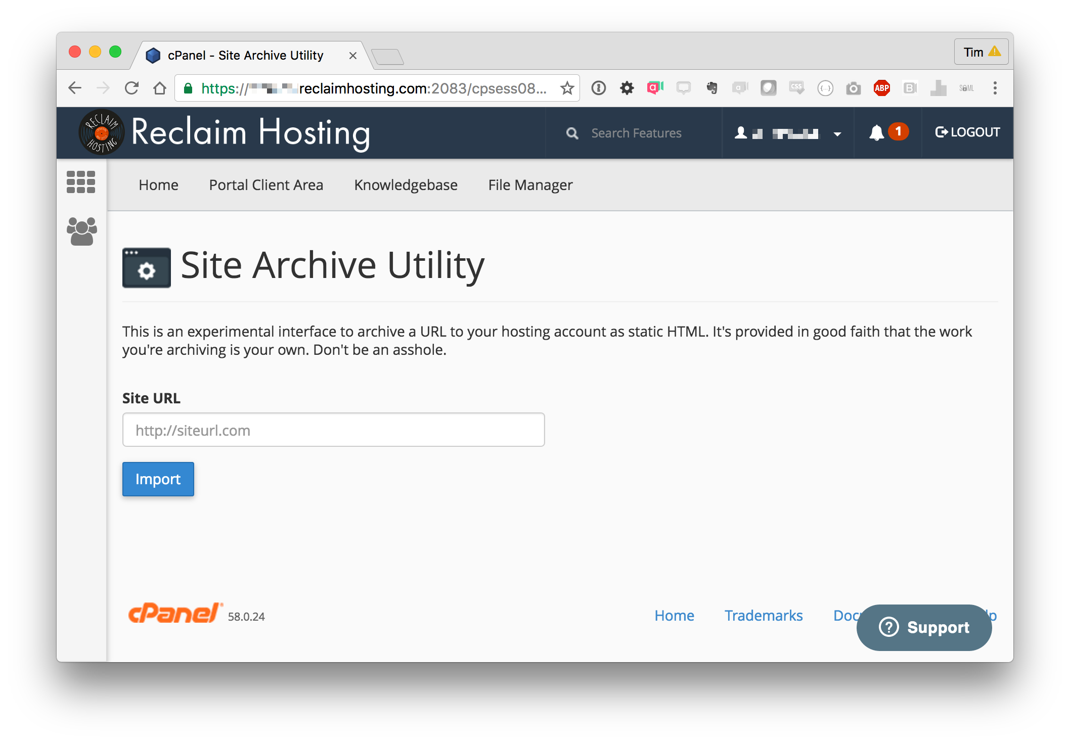 Archiving Wordpress Sites as Static HTML - Reclaim Hosting